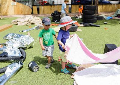 Adventure Playground Materials